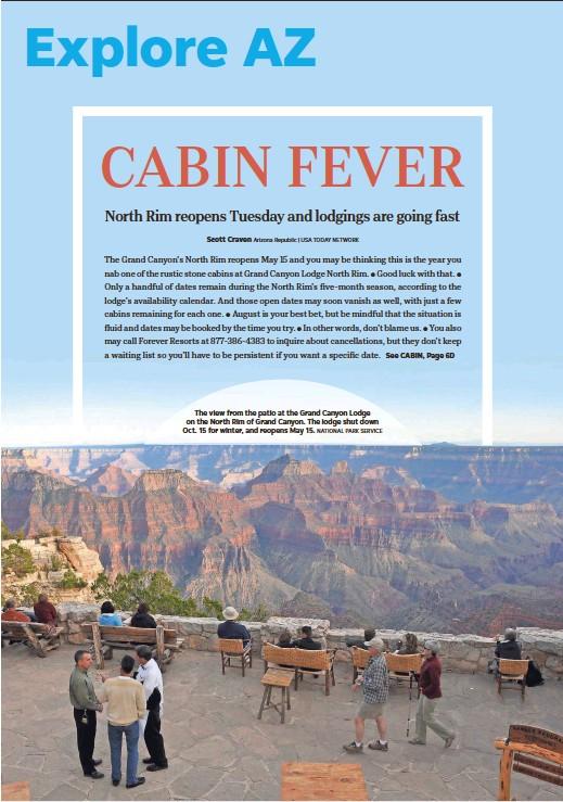 Pressreader The Arizona Republic 2018 05 12 Cabin Fever