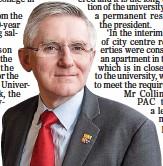 ??  ?? ToP Salary: Prof O'Shea