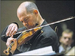 ?? File Photo/Staff ?? Concertmaster Alexander Kerr is scheduled to double as conductor and soloist for one of the DSO's upcoming ReMix programs.