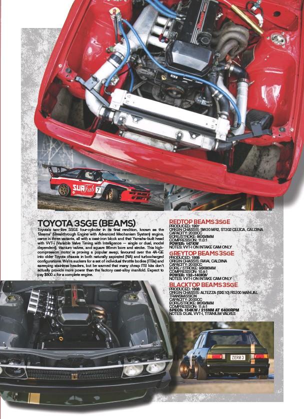 Pressreader Nz Performance Car 2018 08 27 Toyota 3sge Beams