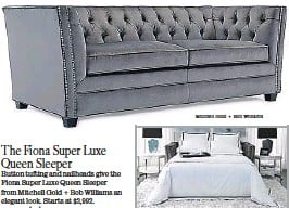 Pressreader Los Angeles Times 2015 12 05 Stylish Sleeper Sofas