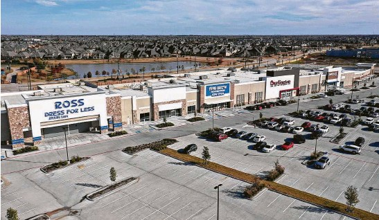 ?? NewQuest Properties ?? The Grand at Aliana, a development of NewQuest Properties at West Grand Parkway South and West Airport Boulevard in Richmond, will welcome anchor tenants Michaels, Ross Dress for Less and Ulta in March.