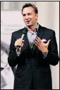 ??  ?? Style expert Clinton Kelly, from TlC, was the main speaker at the event.