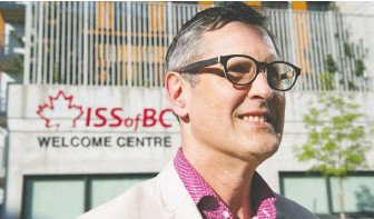 """?? GERRY KAHRMANN/FILES ?? Immigrant Services Society of B.C. executive director Chris Friesen says the situation """"is evolving hour to hour."""" Refugee settlement is an essential service and he's had little sleep lately."""