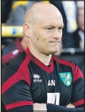 ??  ?? DOWN AND OUT: Alex Neil