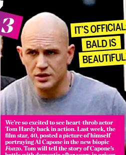 bald is in