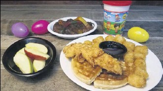 ?? Cyndi Marton ?? Humperdinks locations will offer a kids' fourcourse menu for $5.99, along with a brunch special for adults for $14.99.