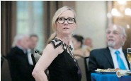 ?? LEWIS JACOBS/USA Network ?? Anne Heche returns to TV in Dig, which centres on an international conspiracy that threatens human history.