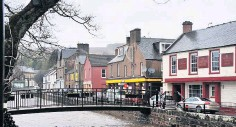 ??  ?? Assault The incident happened on Commercial Street in Alyth