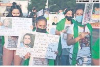 ?? EL INFORMADOR • F. ATILANO ?? RECLAMO. Las protestas por los desaparecidos son constantes en Jalisco.