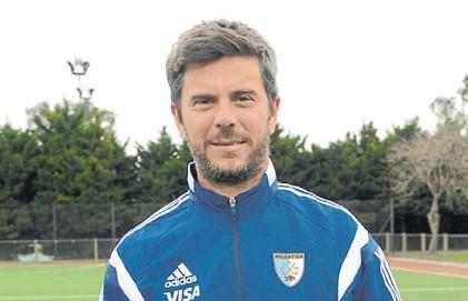 ?? ARG FIELD HOCKEY ?? Mamo. Mariano Ronconi fue arquero de la Selección argentina entre 1995 y 2000.