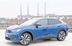 """?? FOTO: ROLAND HERMSTEIN ?? """"Weltauto des Jahres 2021"""": Der ID.4 von Volkswagen räumte jetzt einen der wichtigsten Preise der Branche ab."""