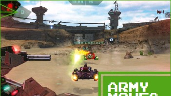 ??  ?? » [PSP] The handheld version of Battlezone had potential, but small matches versus AI stop being fun quite quickly.