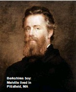 ??  ?? Berkshires boy: Melville lived in Pittsfield, MA