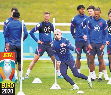 ??  ?? Objetivo. Los ingleses tienen ante Alemania la oportunidad de cimentar su candidatura a ganar la Eurocopa.