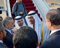 ??  ?? UAe Ambassador Hamad obaid ibrahim Salem Alzaabi was among those who received Sheikh Mohamed bin Zayed.