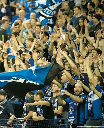 ??  ?? Un total de 71 779 spectateurs pour les deux matchs à domicile en Ligue des champions. Ce n'est pas rien !