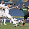 ?? Reuters ?? LEEDS United's Stuart Dallas scores their first goal.  