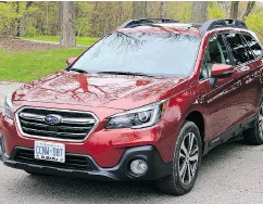 ?? PHOTOS: GRAEME FLETCHER / DRIVING.CA ?? 2018 Subaru Outback 2.5i Limited is a worthy high-performing entry into the SUV crossover category.