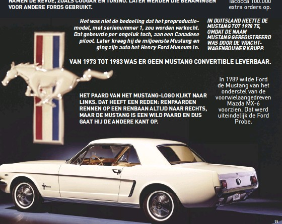 Pressreader Auto Review 2018 05 25 Weetjes Over De Ford Mustang