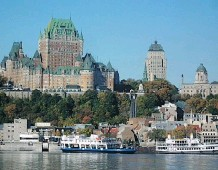 ??  ?? The cruise from New York to Quebec City impressed Phil who enjoyed the ports along the way, such as Bar Harbor, Maine, as well as Canada's heritage on display in Quebec.