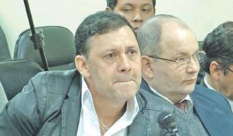 ??  ?? Víctor Bogado en el juicio oral del 3 de mayo de 2019, cuando se dictó su condena.