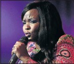 ?? PHOTO: VELI NHLAPO ?? SHARING: Tebello Sukwene during a performance