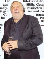 ??  ?? Darf in Lienz nicht fehlen: Der Osttiroler Ex Skistar Werner Grissmann.