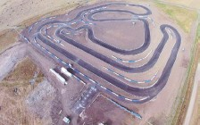 ?? CALGARY KART RACING CLUB ?? The Calgary Kart Racing Club chose to build the same layout in Strathmore as this track found in Wanneroo, Australia.