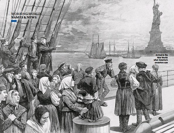 ??  ?? Arrival in the New World: what America's ancestors saw