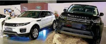 ??  ?? Land Rover ya abrio concesionario en Barranquilla luego del Autofest del año pasado.