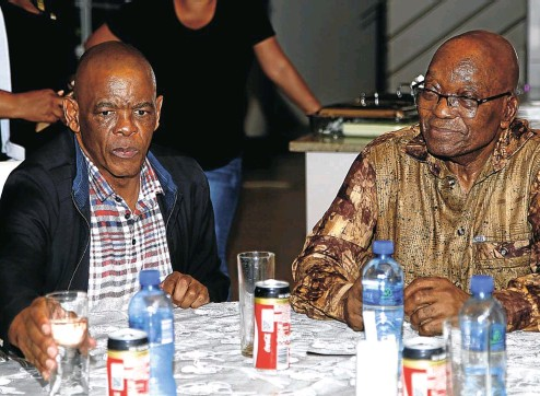 ?? Picture: Musa Masilela ?? ANC secretary-general Ace Magashule visited former president Jacob Zuma in Nkandla this week as he lobbied for support on the step-aside issue.