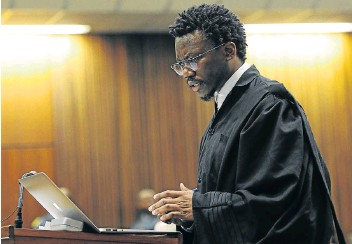 ?? Picture: GALLO IMAGES/ BEELD/ FELIX DLANGAMANDLA ?? CALA'S PRIDE: Advocate Tembeka Ngcukaitobi is on the verge of being awarded silk status by President Cyril Ramaphosa.