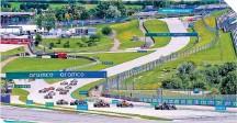 ?? FOTO: CORTESÍA @F1 ?? Nuevamente empiezan a caerse fechas en el calendario de la Fórmula Uno