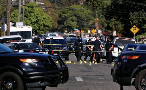 ?? YALONDA M. JAMES THE SAN FRANCISCO CHRONICLE VIA GETTY IMAGES FILE PHOTO ?? Since COVID-19 hit, Oakland, Calif., has seen a spike in violence. For the first time in seven years, homicides rose above 100, local media reported, up from 78 in 2019.