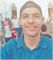 ??  ?? Información. Familiares y amigos buscan a Jonathan Esteven Castillo Gómez.