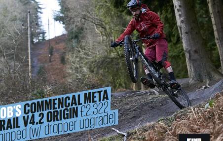 Pressreader Mountain Biking Uk 2018 03 22 Rob S Commencal Meta