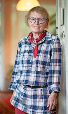 ??  ?? Leiterin einer Sprachschule in Freienbach SZ: Ruth Kündig.