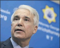 ?? FILE PHOTO: ERIC RISBERG — THE ASSOCIATED PRESS ?? Reform-oriented new Los Angeles County District Attorney George Gascón.