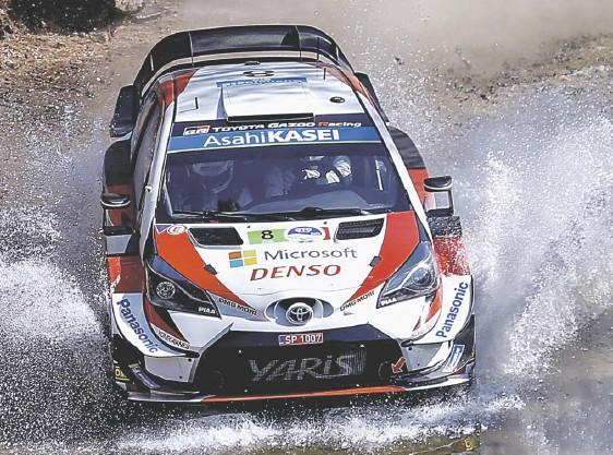 ??  ?? De nueva cuenta, Guanajuato recibe al WRC, hoy continuará la emoción del Rally. Foto: EFE