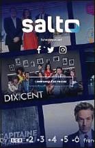 ??  ?? Salto est le fruit du partenariat de France Télévisions, TF1 et M6.