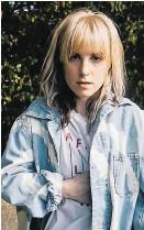 ??  ?? Hayley Williams: Seelenreinigung mit eigenen Songs und veränderten Klangsphären.