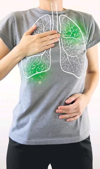 ??  ?? Das Coronavirus befällt mehrheitlich die Lungen, aber auch andere Organe werden bei einem schweren Verlauf in Mitleidenschaft gezogen. Reha fördert die Genesung.