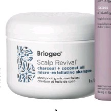 ??  ?? INVEST IN GOOD-QUALITY HAIR PRODUCTS, SUCH AS BRIOGEO'S SCALP REVIVAL SHAMPOO AND LIVING PROOF RESTORE INSTANT PROTECTION HAIRSPRAY; PHILIP KINGSLEY BRIGHTENING SHAMPOO