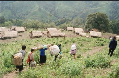 ?? Photo: Shan Human Rights Foundation ?? The State Counsellor's Office urged Shan refugee camps to report their aid needs.