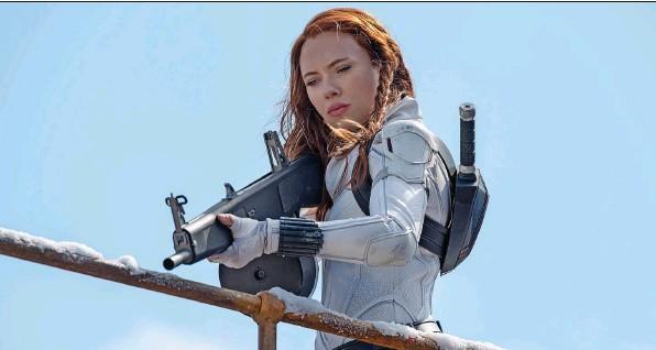 ?? Foto: Jay Maidmen (Keystone) ?? Scarlett Johansson als Natasha Romanoff in «Black Widow».