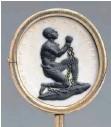 ?? FOTO: P. LACHENAUER/MET ?? Josiah Wedgwood: AntisklavereiMedaillon mit einem Sklaven in Ketten von 1787.