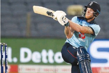?? File ?? ↑ England's stars such as Ben Stokes (in frame), Jofra Archer and Jos Buttler have been told to give priority to international commitments.