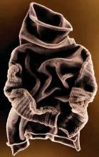 ??  ?? Un maglione della special collection Fatto a Mano di Cividini.