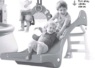 ??  ?? PLAY all day with this slide set.